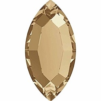 Swarovski #2200 8 x 4mm Navette- Golden Shadow
