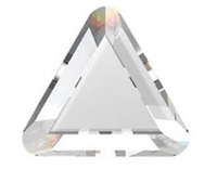 Swarovski #2711 6mm Triangle flat back-HOTFIX Crystal