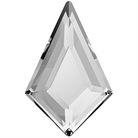 Swarovski 8.6 x 5.6mm Kite flat back- Crystal
