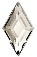 Swarovski 6.6 x 3.9mm Diamond flat back-Silver Shade