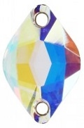 Swarovski 18 x 12mm Lemon Sew On- Crystal AB