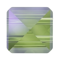 Swarovski 7.5mm Square Spike Bead- Paradise Shine