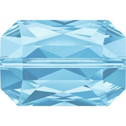 Swarovski 16 x 11mm Treasure Bead- Aquamarine