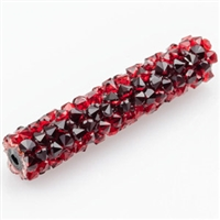 Swarovski 30mm Fine Rock Tube- Light Siam