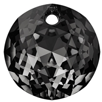 Swarovski #6430 Classic Cut Pendant - Silver Night - 14mm