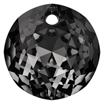 Swarovski #6430 Classic Cut Pendant - Silver Night - 8mm