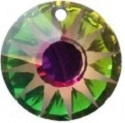 19mm Sun Pendant- Vitrail Medium