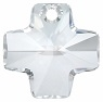 Swarovski 20mm Plus Sign Cross- Crystal