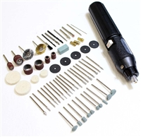 Dynamic 60 Piece High Speed Rotary Tool & Accessories Set