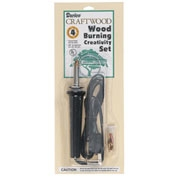 Darice Craftwood Wood Burning Creativity Set