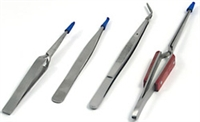 Tooltron 4-Piece Tweezer Set