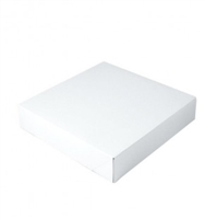 "12"" x 12"" x 1"" White Tuck It Boxes"