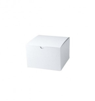 "6"" x 6"" x 4"" White Tuck It Boxes"