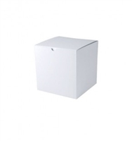"7"" x 7"" x 7"" White Tuck It Boxes"