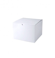 "8"" x 8"" x 6"" White Tuck It Boxes"
