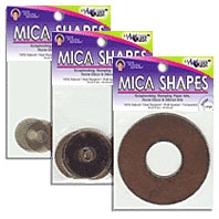 USArtQuest Mica Shapes - Rings