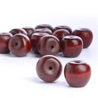 Wood 3-D Apples - Red