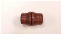 Finished Wood Beads - 38mm x 38mm Bamboo