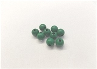 "Finished Wood Beads - 14 mm Round,5/32"" Hole Size"