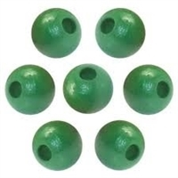Finished Wood Beads - 16 mm