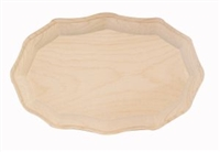 "Wood Plaque - French Oval - 7"" x 9"""