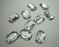 Diamond Gems Acrylic Clear