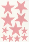 Double Sided Tape Die Cut Sheets - Stars