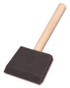 "Artists Best Sponge Brush - 2.75"" x 3"""