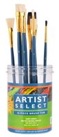 Artist Select Paint Brush Assortment Tub - 10pcs
