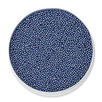 BeadSmith Tiny Glass Beads, TB83469, Royal Blue Metallic