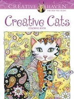 Creative Cats Coloring Book - Creative Haven, Artwork by Marjorie Sarnat