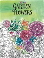JUST FOR LAUGHS COLORING BOOK - GARDEN FLOWERS