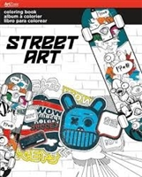 Street Art Coloring Book - Art Zone