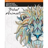 Street Art Coloring Book - Tribal Animals
