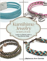 Kumihimo Jewelry Simplified: Learn to Braid with a Kumihimo Disk