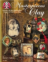 Masterpieces in Clay: Includes 30 Mini-Masterpiece Images to Transfer to Clay Paperback – by Sharon Cipriano