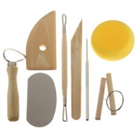 8pc Carving & Sculpting Set for clay & wax