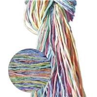 Hand Dyed Silk Strands - Colorful