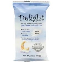 Delight Air Dry White Modeling Compound