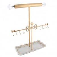 Ikee Metal Jewelry Display Jewelry Stand Hanger Organizer