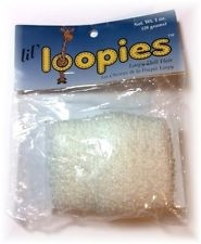 Lil' Loopies Doll Hair - White