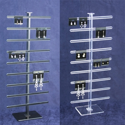 Acrylic Multiple Bar Earring Crad Display Stand