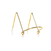 Easel Display Stand - Metal - Gold - 2 inches