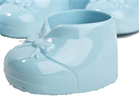 Plastic Baby Bootie Shower Favor - Blue