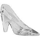 Plastic High Heel Shoe Party Favor - Clear