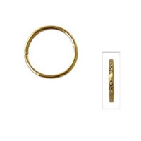 "Victoria Lynnâ""¢ Mini Wedding Rings - Gold & Aluminum - 3/4"""