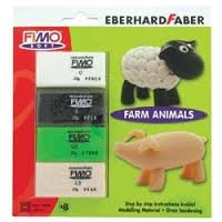Fimo Soft Clay Kit - Farm Animals