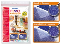 Fimo Texture Sheets - Baroque/Art Deco
