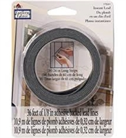 Gallery Glass Instant Redi Lead Lines - 36'