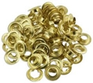 Brass Plated Grommets